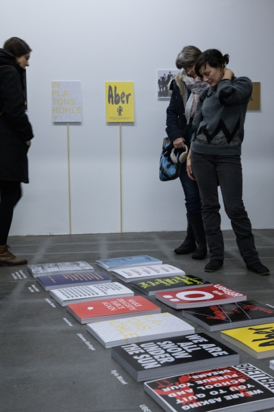 Exhibition view Current Signs, das weisse haus, Vienna, Austria, 2018. Photo courtesy of eSeL ©.
